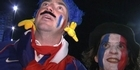 Watch: English fans: 'Well done France'