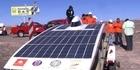 Solar race across worlds driest desert