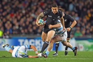 The contract saga surrounding Sonny Bill Williams is expected to end happily after the World Cup. Photo / Getty Images