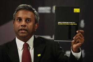 Salil Shetty, Secretary General of Amnesty International. Photo / AP
