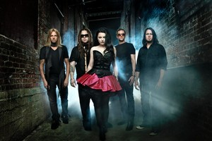 Amy Lee and her all-new lineup in Evanescence believe they've stayed true to the band's rock roots. Photo / Supplied