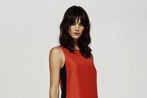 N is for nostalgia: Helen Cherry 'Charley' shift dress, $449. Photo / Supplied