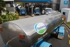 The New Zealand Transport Agency has allowed Fonterra to increase the tonnage of milk hauled by its road tanker fleet. Photo / Bloomberg
