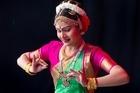 Neha Vishnubhotla from the Anvradha School of Indian Dances. Photo / Natalie Slade