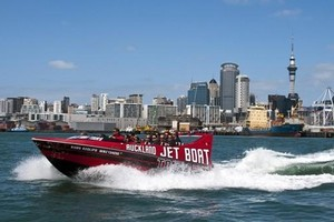 Auckland Jet Boat Tours. Photo / Supplied