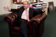 Len Brown is no longer the emotional mayor from Manukau slipping streetwise catchphrases into his conversation. Picture / Dean Purcell