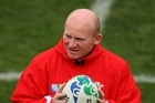 Wales skills coach Neil Jenkins says the set piece will be the key factor in Saturday's game. Photo / Getty Images