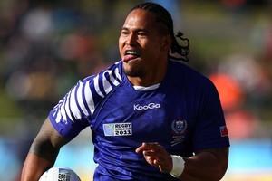 Alesana Tuilagi of Samoa. Photo / Getty Images