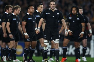 The All Blacks. Photo / Getty images