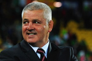 Warren Gatland the head coach of Wales. Photo / Getty Images