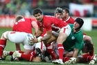 Mike Phillips of Wales in action. Photo / Getty Images