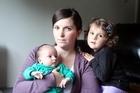 Rachael Wheeler with her children. Photo / Janna Dixon