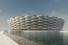 Basra Sports City stadium is due for completion in 2012. Photo / Supplied