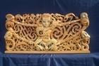 Rei Mihaere says a karakia before carving begins. Photo / Supplied