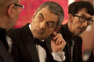 Rowan Atkinson as hapless secret agent Johnny English in 'Johnny English Reborn'. Photo / Supplied