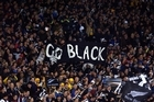 All Black supporters. Photo / Getty Images