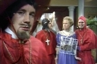 The Spanish Inquisition sketch from Monty Python's Flying Circus television programme. Photo / Supplied