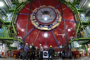 The US$10 billion machine designed to unlock secrets at the heart of matter. Photo / Supplied
