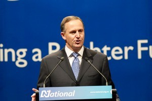 Support for the National Party is still rising. Photo / Mark Mitchell