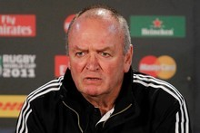 All Blacks Coach Graham Henry. Photo / Christine Cornege