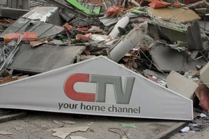 Engineering experts have suggested there were problems with the structure of the CTV building. Photo / Geoff Sloan