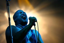 Shapeshifter vocalist P Digsss. Photo / Sylvie Whinray