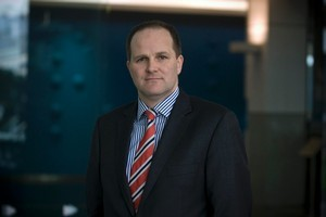 Outgoing Commerce Minister and new head of Westpac Private Bank, Simon Power. Photo / Michael Craig