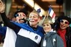 French fans. Photo / Janna Dixon