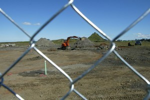 The site of the proposed prison in Wiri. Photo / NZ Herald