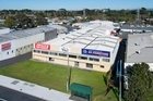 Elevated view of the office and warehouse in Otahuhu close to the southern motorway. Photo / Supplied