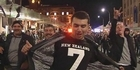 Watch: All Blacks fans celebrate quarter-finals at Viaduct