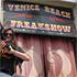 A freakshow touts for business. Photo / Northern Advocate