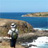 The Heysen Trail takes in ancient red rocks, farmland, forests - and some stunning coastline. Photo / Pamela Wade