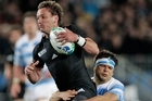 Aaron Cruden had poise and confidence when he took the field against Argentina. Photo / Brett Phibbs