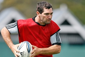 Stephen Donald joined the All Black Rugby World Cup squad yesterday. Photo / Sarah Ivey