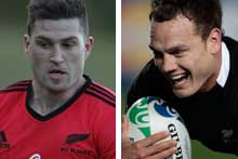 Cory Jane and Israel Dagg. Photos / Brett Phibbs / Getty Images