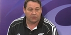 Watch: All Blacks are coping with pressure - Hansen