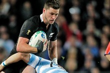 Cory Jane was a standout for the All Blacks against Argentina. Photo / Dean Purcell 