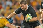 Richie McCaw will lead the All Blacks out in tonight's Rugby World Cup semifinal against Australia. Photo / Getty Images