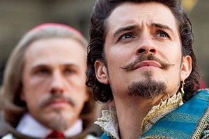 Orlando Bloom stars in The Three Musketeers. Photo / Supplied