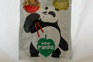 Naked Panda Green Chicken Curry with Noodles. Photo / Supplied