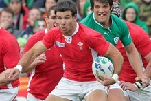 Welsh halfback Mike Phillips is in the form of his life. Photo / Mark Mitchell