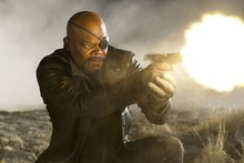 Samuel L Jackson stars as Nick Fury in The Avengers. Photo / Apple.com 