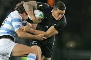 Sonny Bill Williams. Photo / Ron Burgin