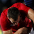 Sam Warburton of Wales up ends Vincent Clerc of France. Photo / Dean Purcell