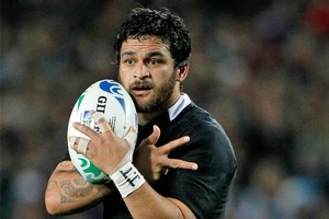 Piri Weepu produced a man of the match performance against Argentina. Photo / Dean Purcell