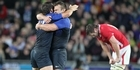 View: French joy, Welsh devastation