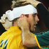 David Pocock of the Wallabies has his head bandaged. Photo / Getty Images