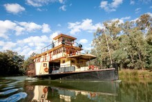 A trip on a riverboat paddle steamer is a lovely way to travel. Photo / Supplied