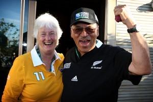 Tom and Helen Ohia. Photo / Natalie Slade